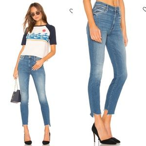 MOTHER Jeans The Stunner Two Step Fray Raw Hem 31